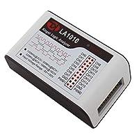 F Fityle 1組のKingst LA1010 USBロジックアナライザー16チャネルARMデバッグツール(Accs付き)