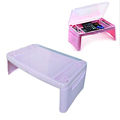 HJ-CGZ opvouwbare laptoptafel, laptopbureau, vroeg laptopbureau met extra opslag en partities, en opvouwen is eenvoudig.