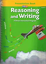Reasoning and Writing: A Direct Instruction Program, Level B, Presentation Book