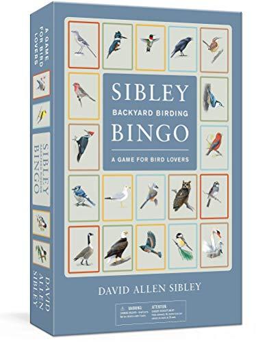 Sibley Backyard Birding Bingo: A Game for Bird Lovers (Sibley Birds)