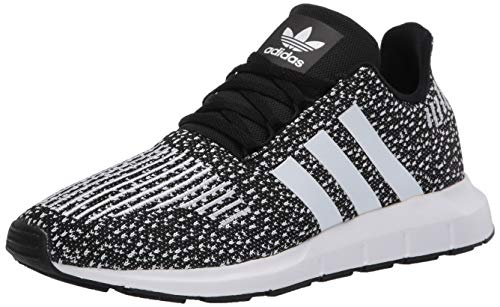 adidas Originals Kids Unisex's Swift Run Sneaker, core Black/FTWR White/FTWR White, 6.5 M US Big Kid