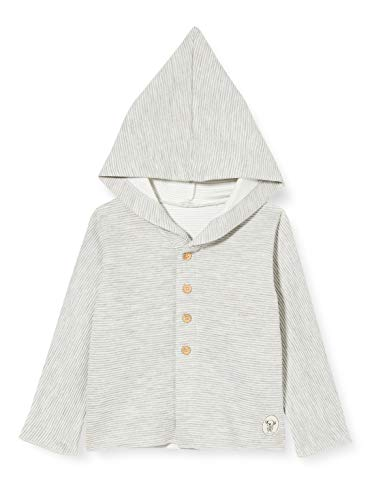 United Colors of Benetton Baby-Jungen Giacca C/CAPP M/L Pullover, Gray 903, 68 cm