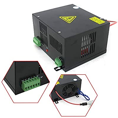 110V Co2 L.a.s.e.r Power Supply L.a.s.e.r Engraving Cutting Machine T-Series Power Supply for Co2 L.a.s.e.r Tube