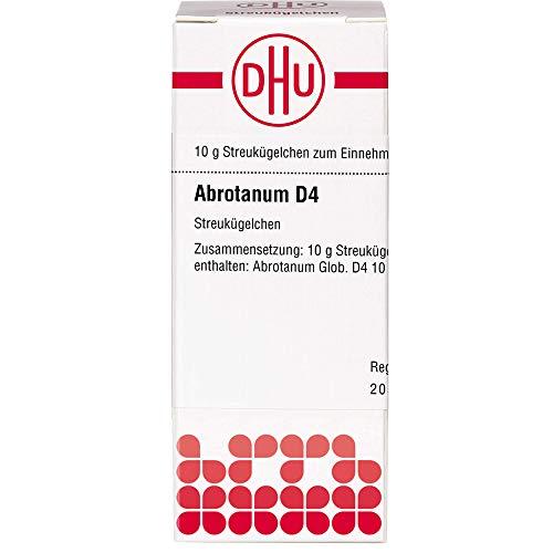 DHU Abrotanum D4 Streukügelchen, 10 g Globuli