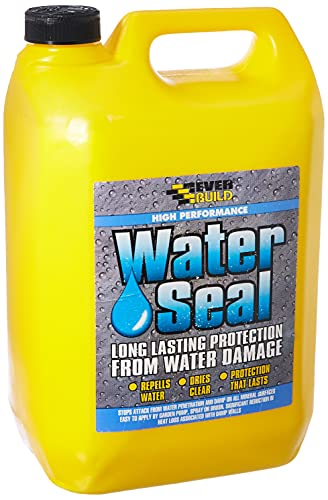 Everbuild 402 High Performance Water Seal - Long Lasting Protection From Water Damage, 5 Litre