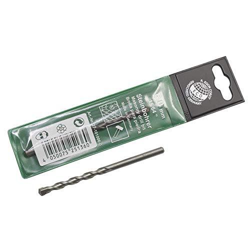 Dönges Ruko - Broca para mampostería (ISO 5468, con filo de metal duro, diámetro 22 mm, longitud 600 mm)