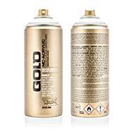 Montana Cans Montana GOLD 400 ml Color, Shock White Pure Spray Paint