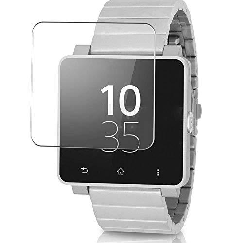 Vaxson 4 Stück Schutzfolie, kompatibel mit SONY SmartWatch 2, Bildschirmschutzfolie TPU Folie [nicht Panzerglas]