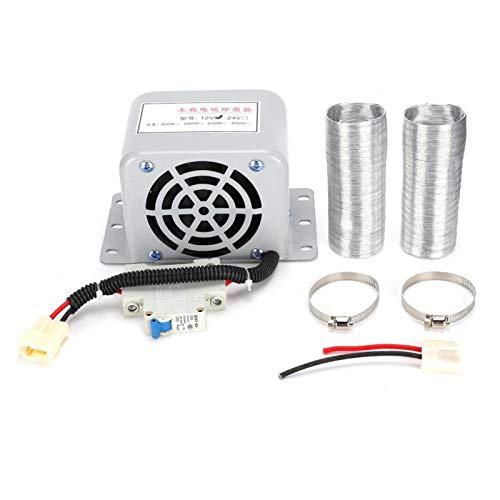 Calentador eléctrico cálido, calentador eléctrico portátil de 800 vatios para automóvil, soplador de aire caliente para automóvil, antivaho