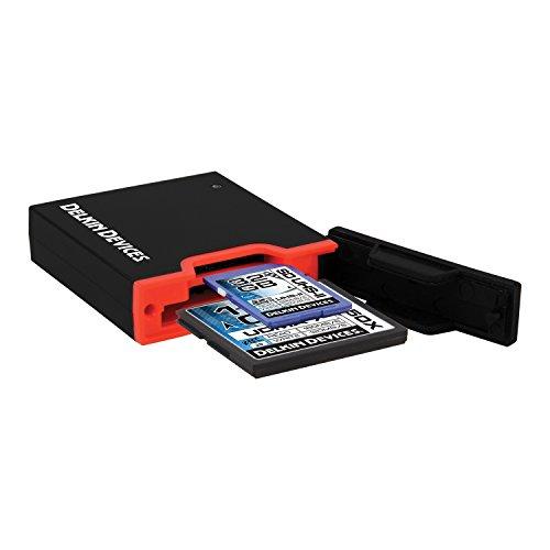 Delkin USB 3.0Dual Slot SD UHS-II e schede di memoria CF,...