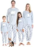 Sleepyheads Holiday Polar Bear Family Matching Grey Pajama PJ Sets, Kid - Polar Bear, 4T
