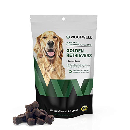 Top 10 best selling list for dog supplements for golden retrievers