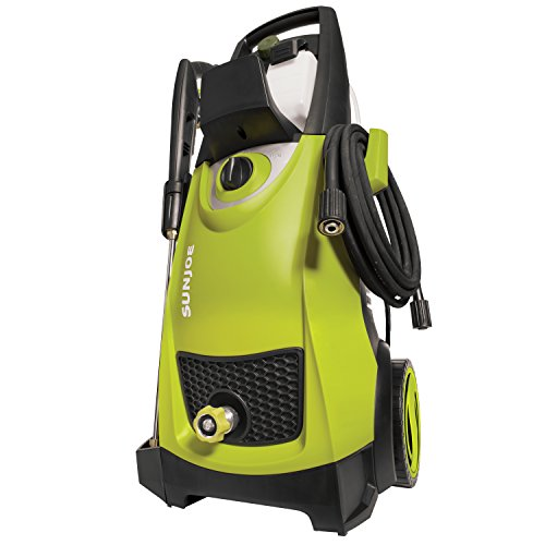Sun Joe SPX3000 2030 Max PSI 1.76 GPM 14.5-Amp Electric High Pressure Washer, Cleans...