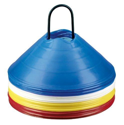 Derbystar Markierungshütchen-Set Groß, Groß Ø 30 x 12 cm, mehrfarbig, 5013000000