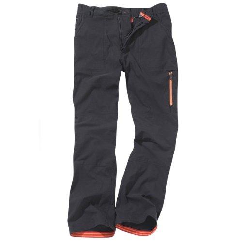 Craghoppers Bear Survivor Pantalon entièrement Stretch Noir Noir 34\