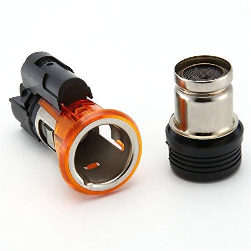 #N/D 822754 universal 12 V coche encendedor de cigarrillos vivienda Cig zócalo CC SW 206 308 406 607 1007 durable encendedor