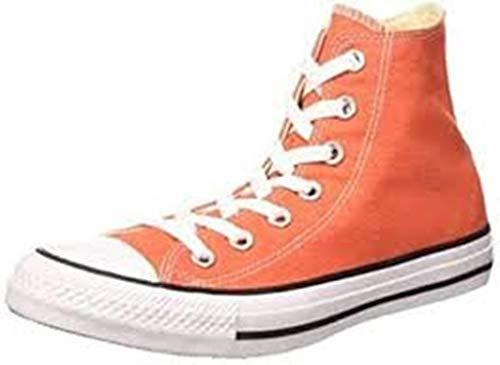 Converse Chuck Taylor All Star II, Scarpe alte unisex, da adulto Arancione Size: 11 US