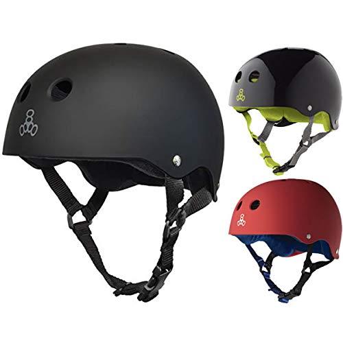 Triple8 トリプルエイト ヘルメット TRIPLE EIGHT SWEATSAVER Triple8 自転車・インライン・スケートボード ヘルメット【C1】 XL(58-61cm) UNITED-RED-RUBBER