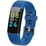 SaiYuan Smart Watch for Android Phones, IP67 Waterproof Fitness Watch for Women with Heart Rate Monitor, Sleep Monitor, Calorie Counter and More - Kids Activity Tracker