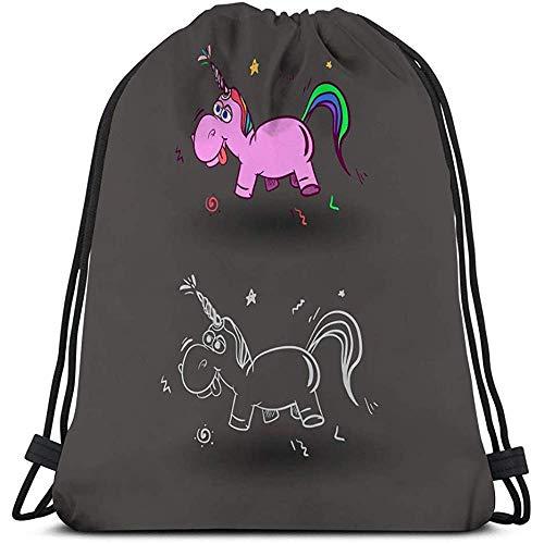 BOUIA Classic Drawstring Bag Sport Aufbewahrungstasche für Männer Frauen Cute Magical Sweet Kids Cute Magical Sweet Kids icon