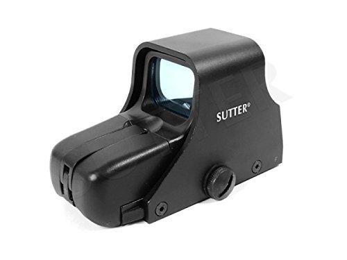 SUTTER RedDot Sight 1x35 Reflex Visier - RedDot Rotpunkt Zielfernrohr Leuchtpunktvisier