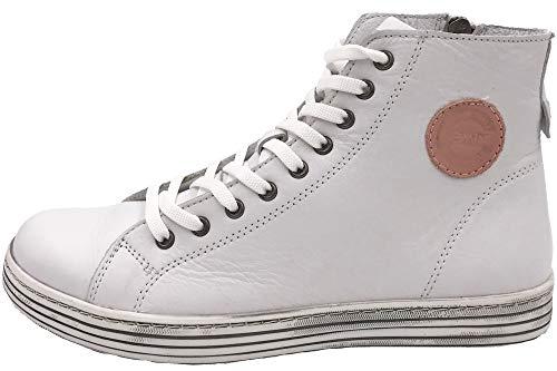 Gemini Damen Boots High Top Sneaker Weiß 342320-02-0001 Schuhe, EU 41