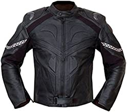 4limit Sports Biker moto chaqueta > > Honda Negro < < Chaqueta de piel moto chaqueta