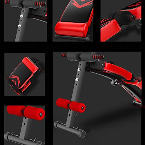 Product Image 2: Utility Core Abdominal Trainers With Headrest,Multifunctional Portable Weight Bench For Full Body,Foldable Adjustable Ab Bench A
