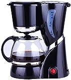 GXBCS Espumador de Leche Batidora de Leche Cafetera Dirp Cafetera con Filtro de Olla de Vidrio Cesta de Filtro Filtro Permanente Pequeña máquina de té 918