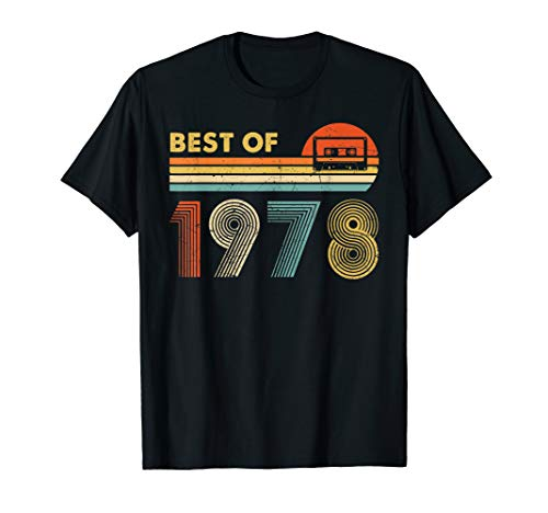 Vintage 1978 42 Geburtstagsgeschenk Classic 1978 T-Shirt