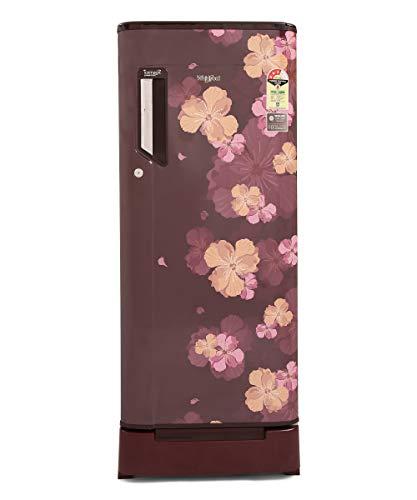 Whirlpool 215 L 3 Star Inverter Direct-Cool Single Door Refrigerator with Moisture Lock-In Technology (230 ICEMAGIC FRESH ROY 3S INV, Wine Azalea)