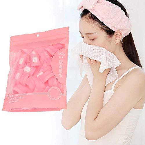 100 piezas de toalla comprimida