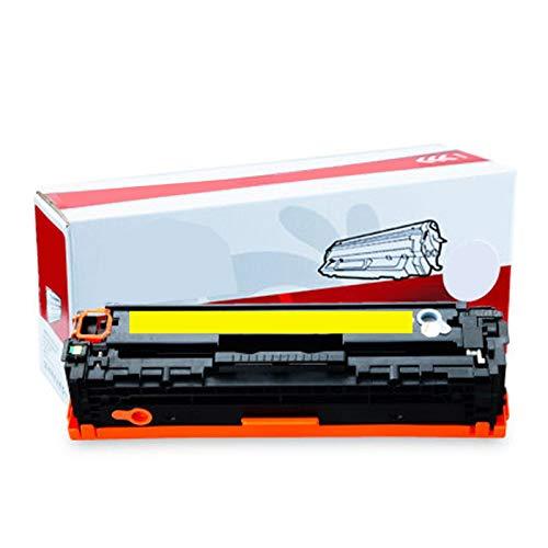 GYYG Compatible para HP Color Laserjet Pro CP2025 CP2025DN CP2025X CM2320N CM2320NF CM2320NF Impresora CM2320FXI para HP CE410A 305A con reemplazo de Cartucho de tóner de Yellow