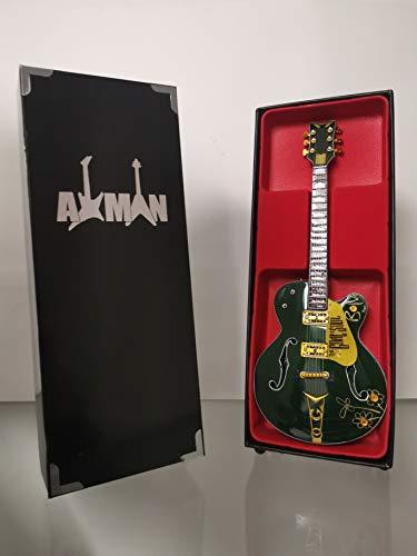 Bono (U2) - Réplica de guitarra miniatura con vitrina y soporte
