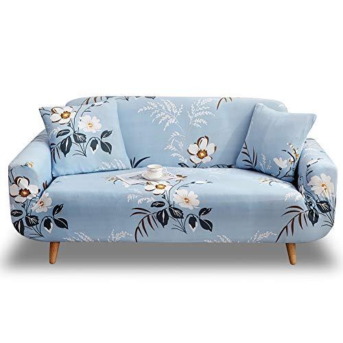 HOTNIU Elastischer Sofa-Überwürfe Antirutsch Stretch Sofaüberzug, Sofahusse, Sofabezug, Sofa Abdeckung Hussen für Sofa, Couch, Sessel in Verschiedene Größe und Farbe (3 Sitzer, Pattern #Azs)