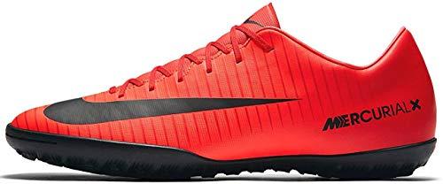 Nike Herren MercurialX Victory VI TF Fußballschuhe, Rot (Universität Rot/Schwarz-Helles Karmesinrot 616), 40.5 EU