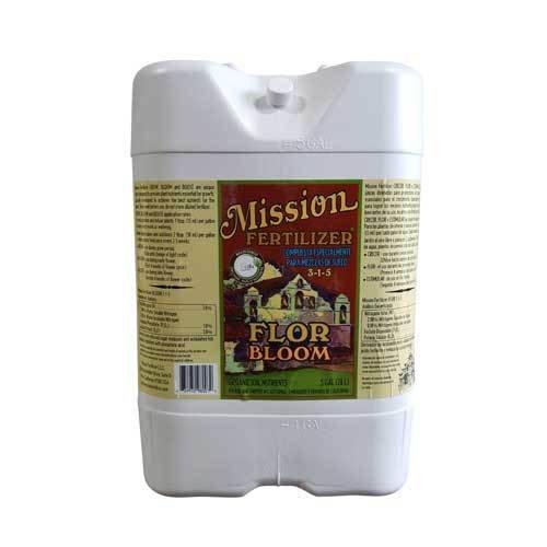 Mission Fertilizer BLOOM 3-1-5 Organic Fertilizer Liquid 5 Gallon - (Organic soil nutrients)