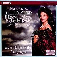 J. Strauss: Die Fledermaus / Te Kanawa, Gruberova, Previn [highlights]
