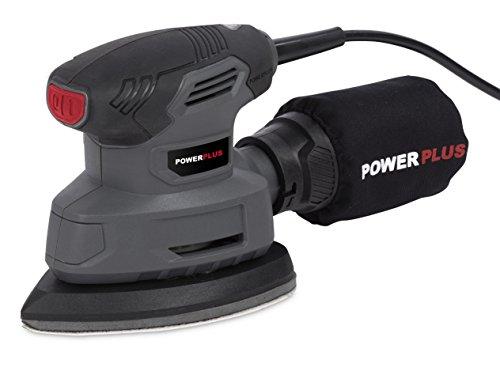 POWERPLUS POWE40020 (Multilijadora, Lijadora manual, Negro, Gris, Bolsa, Rectangular, 13000 RPM), 0