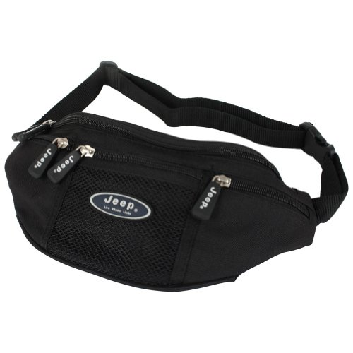 Bum Bag with Mobile Phone Pocket by Jeep