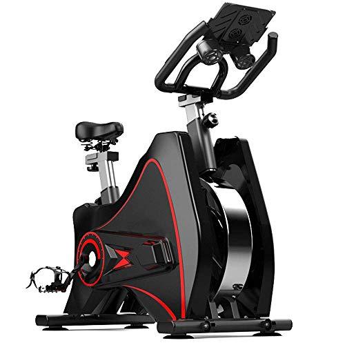 LLGBD Worth Having - Bici per Esercizio di filatura Indoor 6KG. Tutti i Pacchetti ad Alta Resistenza acciai volano, Trasmissione a Cinghia, Pedale in Alluminio, per Home Palestra Cardio Allenamento