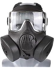 Wwman Slijtvast Tactisch/CS/Paintball/Airsoft Masker voor Gebruik Beschermend TPR Volgelaats Maskers, met Dubbele Ventilator