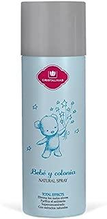CRISTALINAS Ambientador Natural Spray Bebé y Colina