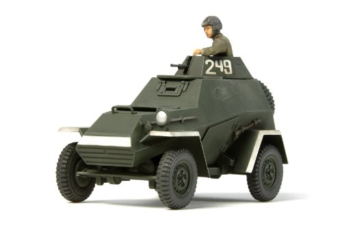 タミヤ 1/48 ミリタリーミニチュアシリーズ No.76 ソビエト陸軍 装甲車 BA-64B プラモデル 32576