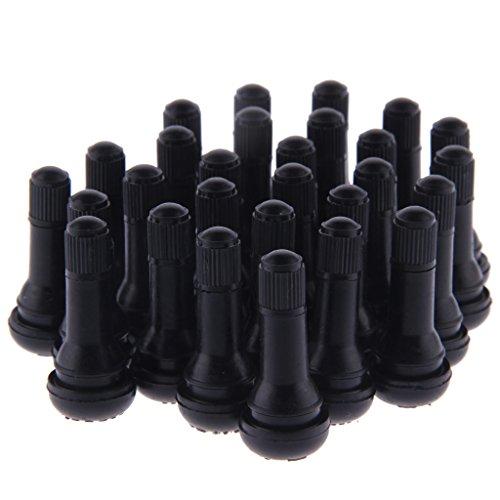 AllRight 100 x TR413 Gummi Ventile Reifen Ventile Autoventile Auch Für Stahlfelgen