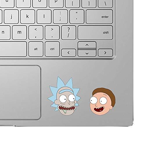 Rick und Morty Aufkleber für Laptop Drama Vinyl Auto lustige Abziehbilder