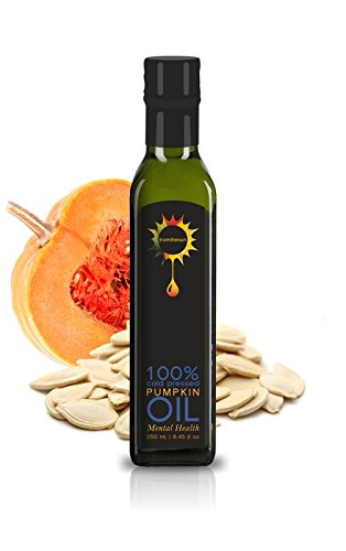 Pumpkin Seed Oil Unrefined Cold Pressed Raw 100% Natural Non GMO 8.45 fl oz / 250 ml -  fromthesun