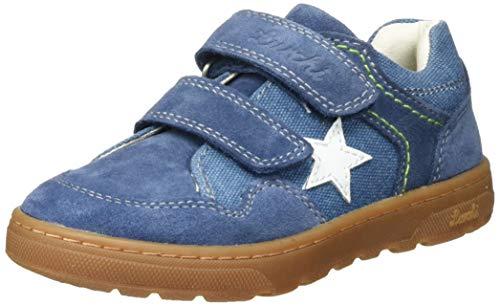 Lurchi Jungen Darko Sneaker, Blau (Jeans 22), 32 EU