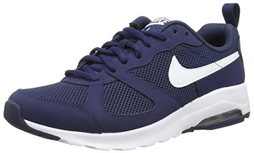 Nike Herren Air Max Muse Laufschuhe, Varios Colores (Azul/Blanco (Midnight Navy/White), 44 EU