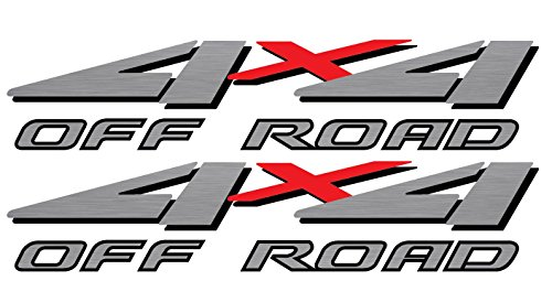 Vinylmark LLC Replacement 4x4 Bedside Decals - 1999 to 2001 Off Road Fits Ford...